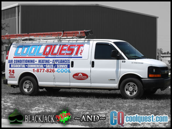Local Hudson companies BlackJack Wraps and CoolQuest, Inc.